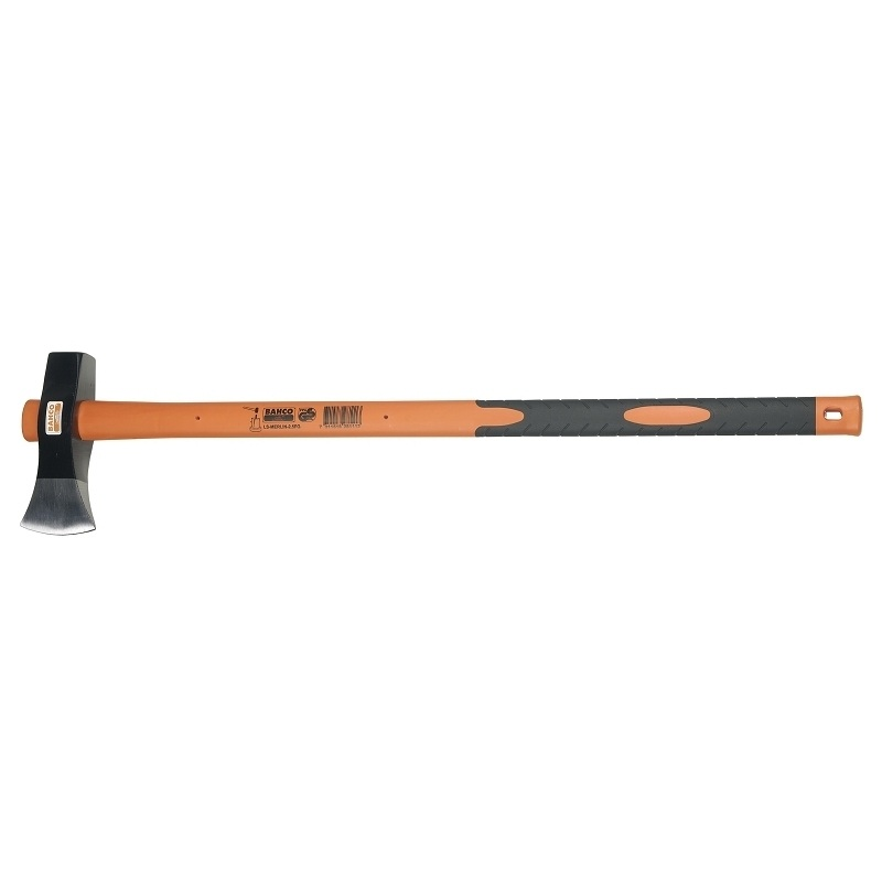 Колун с фиберглассовой рукояткой Bahco, 87 см787502Колун Bahco представляет собой ударный инструмент, предназначенный для работы с древесиной. Прочный боек может использоваться в качестве топора и колуна. Качественная рукоятка изготовлена из ясеня и имеет резиновую накладку. Боек закреплен на черенке с помощью кожаного кольца. Характеристики: Материал: сталь, пластик, дерево. Длина ручки: 87 см. Вес: 2,5 кг. Размер рабочей поверхности: 21 см x 10,5 см. Размер упаковки: 92 см х 21 см х 5 см.