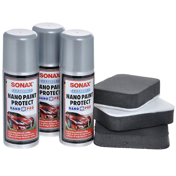 Средство для защиты лакокрасочного покрытия Sonax96281389Спиртовой раствор поверхносно-модифицированного нано-дисперсного кремния. Применяется для всех видов автомобильный красок. Обеспечивает длительную защиту от грязи, царапин и воздействия внешней среды. Использовать в хорошо проветриваемых помещениях. Характеристики: Объем: 50 мл. Общий объем: 150 мл. Размер аппликатора: 5 см х 7,5 см х 1,5 см. Размер упаковки: 11,5 см х 11,5 см х 6,5 см. Артикул: 236000.