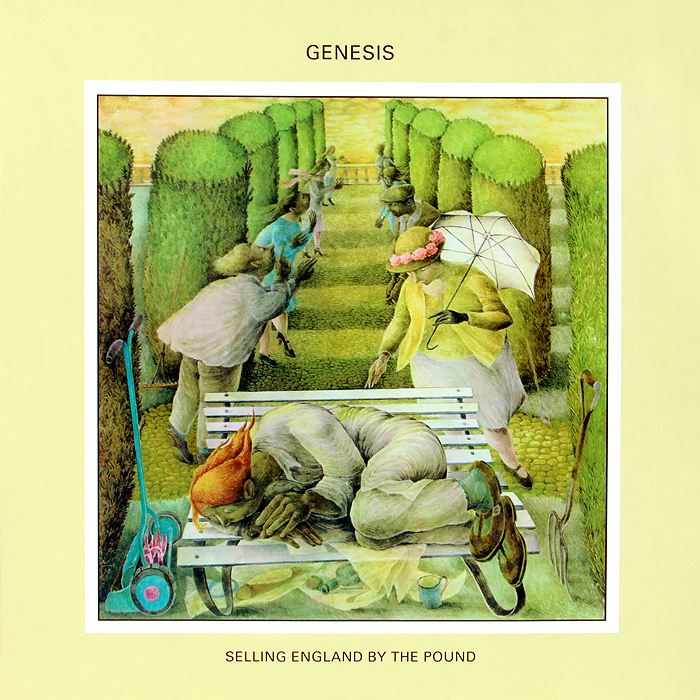 Genesis Genesis. Selling England By The Pound (LP) genesis – the lamb lies down on broadway 2 lp