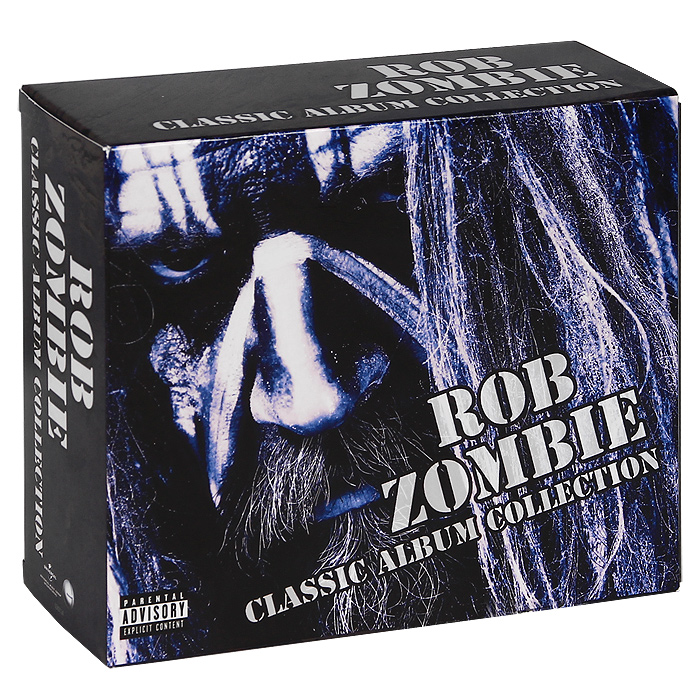 Роб Зомби Rob Zombie. Classic Album Collection (4 CD + DVD) the triple album collection vol 1 cd