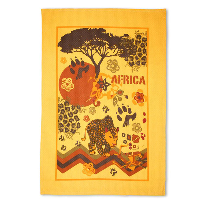 Полотенце Bonita Африка, 40 см х 60 смS03301004Полотенце Bonita Африка изготовлено из натурального хлопка. Ткань имеет вафельную структуру и оформлена различными изображениями, символизирующими Африку. Полотенце идеально впитывает влагу и сохраняет свою необычайную мягкость даже после многих стирок. Полотенце Bonita Африка - отличный вариант для практичной и современной хозяйки. Характеристики:Материал: 100% хлопок. Размер полотенца: 40 см х 60 см. Артикул: 0101211578. Уют на кухне это предмет заботы специалистов, создающих текстиль для кухни Bonita. Кухня, столовая, гостиная - то место в доме, где хочется собраться всем вместе, ощутить радость и уют. И немалая доля этого уюта зависит от подобранных под вашу мебель, и что уж говорить, под ваше настроение - полотенец, скатертей, салфеток и прочих милых мелочей. Bonita предлагает коллекции готовых стилистических решений для различной кухонной мебели, множество видов, рисунков и цветов. Вам легко будет создать нужную атмосферу на кухне и в столовой с товарами Bonita.