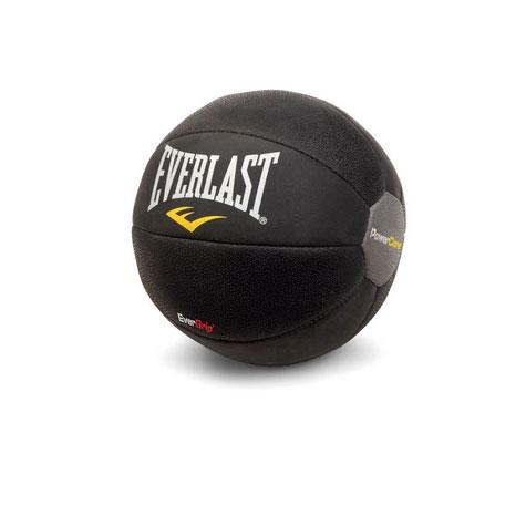 Медицинбол Everlast Powercore, цвет: черный, 4 кгSF 0085Медицинбол Everlast Powercore - тренировочный мяч, который прекрасно подходит для занятий фитнесом, аэробикой или ЛФК (лечебной физкультурой). Шероховатая поверхность не дает ему выскользнуть из рук, а утяжеленная песком сердцевина позволяет с легкостью сохранить баланс или элемент вращения. Характеристики:Материал: синтетическая кожа. Диаметр: 24 см. Вес: 4 кг. Артикул: 6512. Размер упаковки: 27 см х 26 см х 27 см.