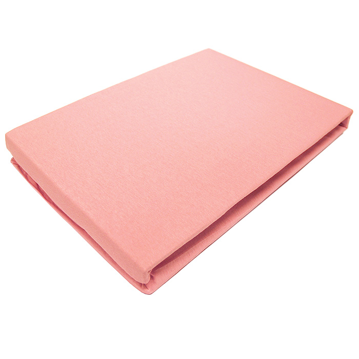 Простыня трикотажная ЭГО на резинке, цвет: розовый, 200 x 200 смES-412Трикотажная простыня ЭГО на резинке выполнена из 100% хлопка высокого качества. Натуральный, экологически чистый материал обеспечивает высокую гигиеничность простыни. Она гигроскопична и воздухопроницаема, а также приятна на ощупь. Трикотаж имеет достаточно рыхлую структуру, образованную переплетением петель, что обеспечивает его растяжимость и эластичность. Простыня ЭГО очень мягкая и не мнется, не теряет форму после стирки и не линяет. Трикотаж достаточно эластичен, поэтому изделия из него можно даже не гладить. Простыня прошита резинкой по всему периметру, что обеспечивает более комфортный отдых, так как она прочно удерживается на матрасе и избавляет от необходимости часто поправлять простыню. Выбрав простыню нужной вам расцветки, вы можете легко комбинировать ее с различным постельным бельем. Характеристики:Материал: 100% хлопок. Размер простыни: 200 см х 200 см х 27 см. Цвет: розовый. Изготовитель:Турция. Артикул:Э-ПР-04-22.