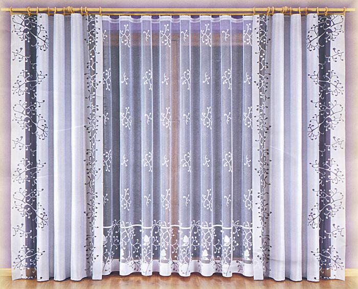 Комплект штор Malwina, на ленте, цвет: бордовый, белый, высота 240 см748419Комплект штор Malwina великолепно украсит любое окно. Комплект состоит из двух штор и тюли, оформленных изящными узорами. Шторы изготовлены из плотного полиэстера бордового цвета, тюль - из легкого полиэстера белого цвета. Оригинальный дизайн и контрастная цветовая гамма привлекут к себе внимание и органично впишутся в интерьер помещения. Все предметы комплекта оснащены шторной лентой для собирания в сборки. Характеристики:Материал: 100% полиэстер. Цвет: бордовый, белый. Размер упаковки:32 см х 38 см х 11 см. Артикул: 748419.В комплект входит: Штора - 2 шт. Размер (ШхВ): 140 см х 240 см. Тюль - 1 шт. Размер (ШхВ): 600 см х 240 см. Фирма Wisan на польском рынке существует уже более пятидесяти лет и является одной из лучших польских фабрик по производству штор и тканей. Ассортимент фирмы представлен готовыми комплектами штор для гостиной, детской, кухни, а также текстилем для кухни (скатерти, салфетки, дорожки, кухонные занавески). Модельный ряд отличает оригинальный дизайн, высокое качество. Ассортимент продукции постоянно пополняется.УВАЖАЕМЫЕ КЛИЕНТЫ!Обращаем ваше внимание на цвет изделия. Цветовой вариант комплекта, данного в интерьере, служит для визуального восприятия товара. Цветовая гамма данного комплекта представлена на отдельном изображении фрагментом ткани.