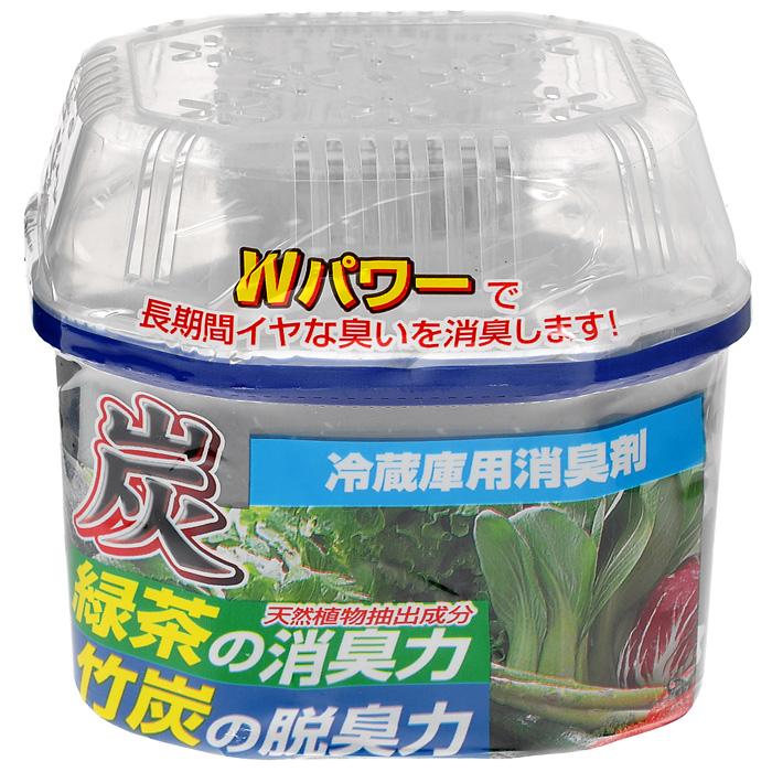 Древесный уголь Nagara для устранения запаха в холодильнике, 180 гВетерок 2ГФЭкологически чистый и безопасный освежитель - поглотитель запахов состоит только из натуральных компонентов, которые не влияют на качество и вкус продуктов и полностью поглощают все нежелательные посторонние запахи в холодильнике и морозильной камере. Характеристики:Состав: вода, абсорбирующие полимеры 80%, дезодорирующие вещества зеленого чая 1%, бамбуковый уголь, isothiazolone. Вес: 180 г. Размер упаковки: 9 см х 7 см х 9 см. Артикул:2251.Товар сертифицирован.