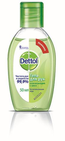 Dettol Гель для рук, с алоэ, 50 млMP59.4DГель для рук Dettol обеспечивает чистоту и защиту рук на 99,9%. Благодаря экстракту алоэ освежает кожу рук, не оставляет ощущения стянутости. Идеален для использования всегда и везде, когда необходимо очищение рук. Удобен в ситуациях, когда нет возможности использовать воду - вне дома, на прогулке с детьми, в путешествиях, во время пикников и занятий спортом. Характеристики:Объем: 50 мл. Производитель: Таиланд. Товар сертифицирован.