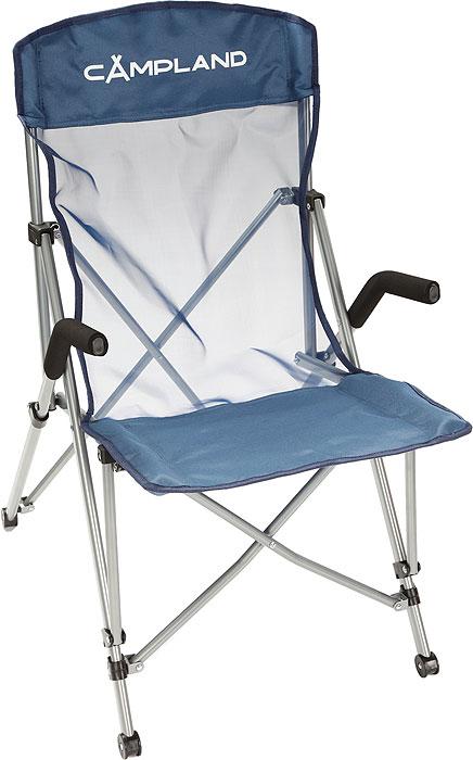 Кресло кемпинговое Campland ЭлитС-019Складное кресло с широким сиденьем и мягкими подлокотниками станет незаменимым предметом в походе, на природе, на рыбалке, а также на даче. Кресло имеет прочный металлический каркас и покрытие из текстиля, оно легко собирается и разбирается и не занимает много места, поэтому подходит для транспортировки и хранения дома. Для большего удобства транспортировки и хранения к креслу прилагается чехол. Характеристики: Размер в разложенном виде: 55 см х 72 см х 92 см. Высота спинки сиденья: 55 см. Размер в сложенном виде: 90 см х 20 см х 20 см. Материал: полиэстер 600D/PVC с водоотталкивающей пропиткой. Каркас: высокопрочная сталь с антикоррозийным покрытием. Максимальная нагрузка: 120 кг. Артикул: BC081.