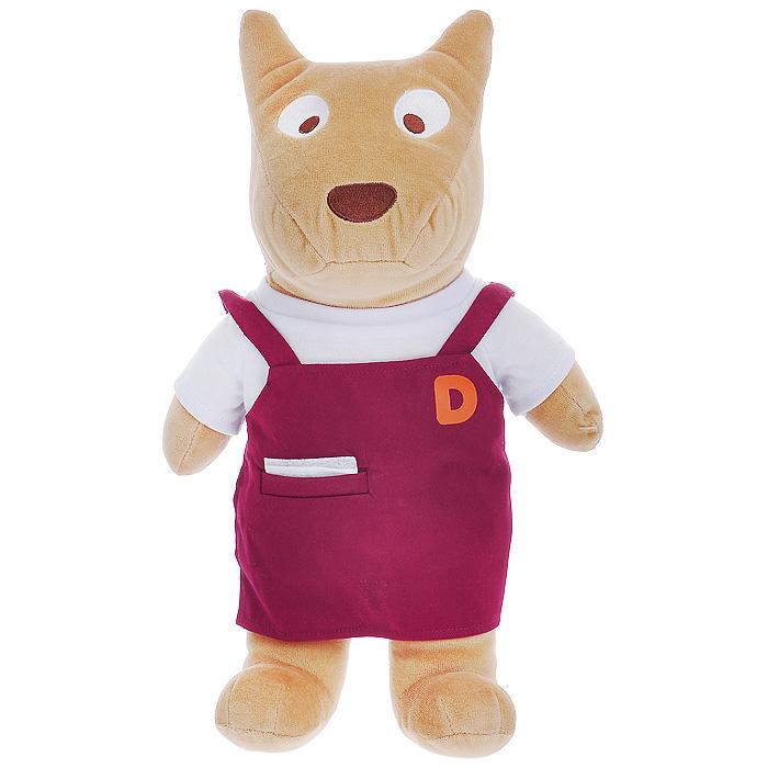 """Мягкая игрушка-подушка """"Don Don"""", выполненная в виде симпатичного песика в фартуке, не оставит равнодушным не только ребенка, но и взрослого. Игрушка-подушка очень мягкая и приятная на ощупь, имеет удобную форму. Благодаря своему забавному дизайну и функциональности, игрушка-подушка """"Don Don"""" станет прекрасным украшением интерьера детской комнаты, а также любимой игрушкой вашего малыша."""