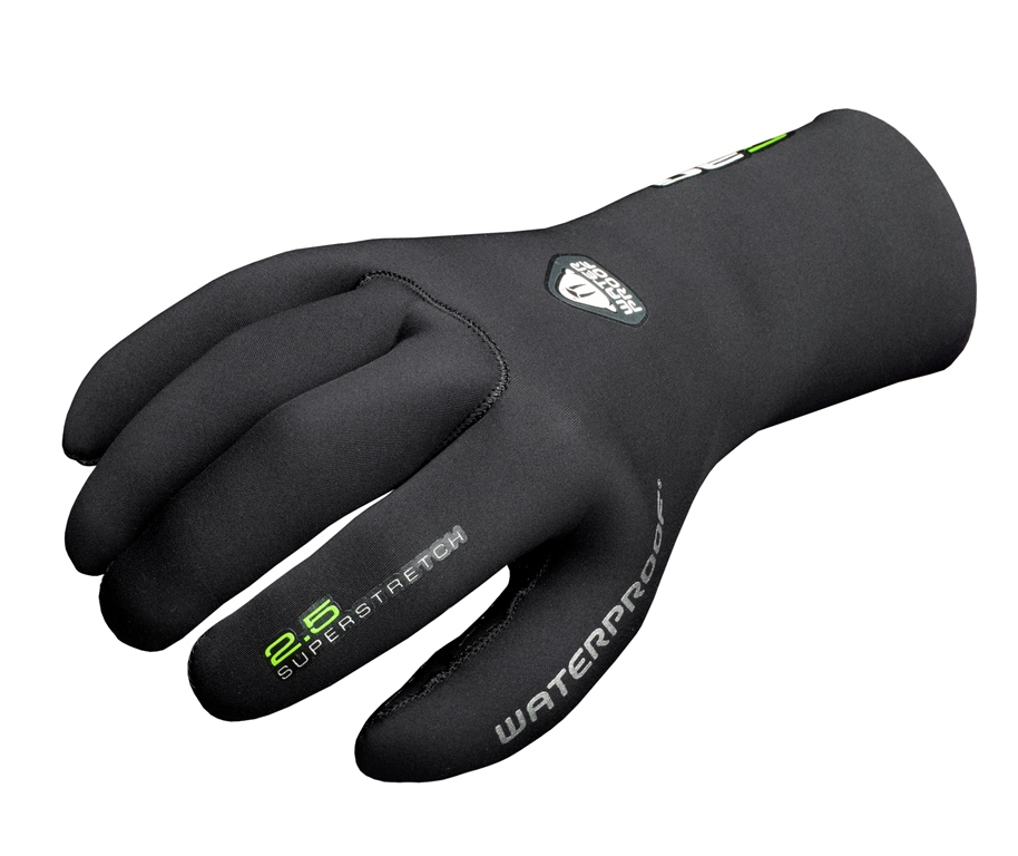 Неопреновые перчатки Waterproof G30, толщина 2,5 мм. Размер XSWP 113027Комфортные эластичные перчатки Waterproof G30 разработаны на базе знаменитой серии более теплых моделей G1, но адаптированы для использования в более теплых и менее суровых условиях. Швы проклеены и прошиты провощенной нейлоновой нитью высшего качества. Нескользящее покрытие на ладони.