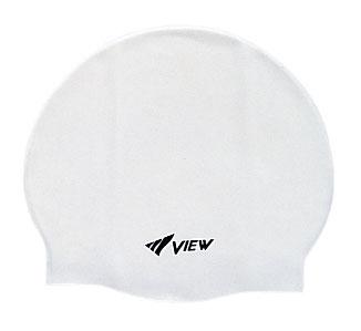 Шапочка для плавания View, силиконовая, цвет: белый3B287Шапочка для плавания View выполнена из мягкого, но прочного силикона и отличается удобством. 100% гипоаллергенный силикон не потеряет цвет со временем. Шапочка украшена небольшим логотипом View. Круглый и гладкий дизайн для лучшего прилегания и уменьшенного сопротивления воды. Благодаря нескользящей внутренней поверхности и устойчивости к растяжению, шапочку легко надевать. Модель подходит детям и взрослым. Характеристики:Цвет: белый. Материал: силикон. Размер шапочки: 22 см х 19 см. Изготовитель: Япония. Артикул: TS V-31 W.