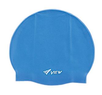 Шапочка для плавания View, силиконовая, цвет: синий297008Шапочка для плавания View выполнена из мягкого, но прочного силикона и отличается удобством. 100% гипоаллергенный силикон не потеряет цвет со временем. Шапочка украшена небольшим логотипом View. Круглый и гладкий дизайн для лучшего прилегания и уменьшенного сопротивления воды. Благодаря нескользящей внутренней поверхности и устойчивости к растяжению, шапочку легко надевать. Модель подходит детям и взрослым. Характеристики:Цвет: синий. Материал: силикон. Размер шапочки: 22 см х 19 см. Изготовитель: Япония. Артикул: TS V-31 BL.