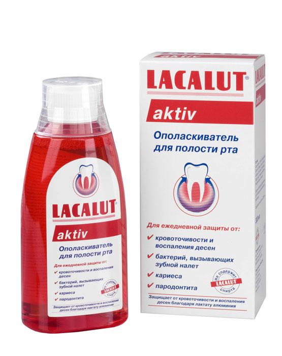 Lacalut Ополаскиватель для рта Aktiv, 300 мл84850536_золушка/голубой, розовыйОполаскиватель Lacalut Aktiv готовый к употреблению ополаскиватель с мощным вяжущим эффектом.Предотвращает кровоточивость и воспаление десен.Оказывает стойкий антибактериальный эффект. Характеристики:Объем: 300 мл. Артикул: 666080/666029. Производитель: Германия. Товар сертифицирован.