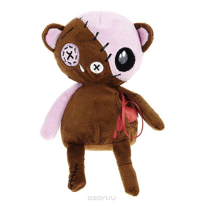 """Мягкая игрушка Magic Bear Toys """"Медведь живое сердце"""", 20 см"""