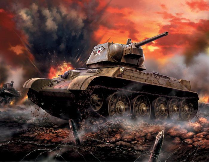 """Сборная модель """"Советский средний танк Т-34/76"""" привлечет внимание не только ребенка, но и взрослого и позволит своими руками создать уменьшенную копию известного танка. Средний танк Т-34/76 - самый известный танк Второй мировой войны. Данная модификация, появившаяся в 1943 году, имеет измененную башню, в отличие от модели 1942 г. За счет этого появилась возможность разместить в башне радиостанцию и увеличить боезапас. Машины этой версии принимали участие в битве на Курской дуге и в других великих сражениях."""