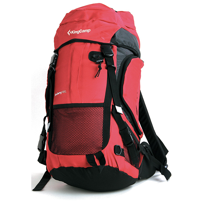 Рюкзак туристический KingCamp Iceberg 40L, цвет красный3430116_3608Рюкзак туристический KingCamp Iceberg 40L с системой вентиляции спины выполнен из водонепроницаемого материала. Состоит рюкзак из большого отделения, боковыми карманами и карманом на крышке. Отделения закрывается на застежки-молнии. Также рюкзак имеет крепеж для ледоруба, система для гидратора, выход для наушников. Характеристики: Материал: полиэстер 420D RipStop с PU покрытием. Объем рюкзака: 40 л. Размер: 60 см х 31 см х 23 см. Вес: 1100 г. Цвет: красный. Артикул: УТ-000049251. Производитель: Китай.
