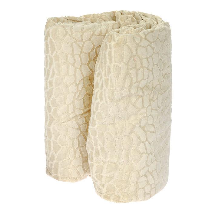 Плед Камни, цвет: бежевый, 100 см х 150 см1787/CHAR003Плед Камни, выполненный из полиэстера бежевого цвета, гармонично впишется в интерьер вашего дома и создаст атмосферу уюта и комфорта. Изделие декорировано рельефным узором, имитирующим брусчатку. Удобный, большой размер этого очаровательного пледа позволит вам использовать его и как одеяло, и как покрывало для кресла или софы.Плед упакован в подарочную коробку, обшитую тканью, из которой выполнен плед. Характеристики:Материал: 100% полиэстер. Цвет: бежевый. Размер пледа: 100 см х 150 см. Размер упаковки: 31 см х 31 см х 9,5 см. Артикул: МП-1/2К. Высокие свойства белья торговой марки Коллекция основаны на умелом использовании вековых традиций и современных технологий производства и обработки тканей. Качество исходных материалов, внимание к деталям отделки, отличный пошив, воплощение новейших тенденций мировой моды позволяют постельному белью гармонично влиться в современное жизненное пространство и подарить ощущения удовольствия и комфорта.