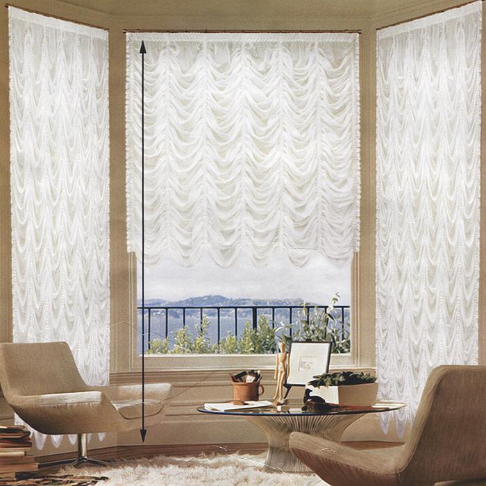 Гардина Zlata Korunka, на ленте, цвет: белый, 560 х 275 см3384 белыйИзящная и торжественная гардина Zlata Korunka изготовлена из высококачественного полиэстера белого цвета. Она является великолепным украшением для залов и гостиных. Прекрасно смотрится в комнатах и кухнях с эркерным окном. В гардину вшита шторная лента. Оригинальный дизайн гардины не оставит никого равнодушным и удовлетворит даже самый изысканный вкус. Характеристики:Материал: 100% полиэстер. Цвет: белый. Размер упаковки:27 см х 36 см х 7 см. Производитель: Польша. Изготовитель: Россия. Артикул: Б018.В комплект входит:Гардина - 1 шт. Размер (Ш х В): 560 см х 275 см.