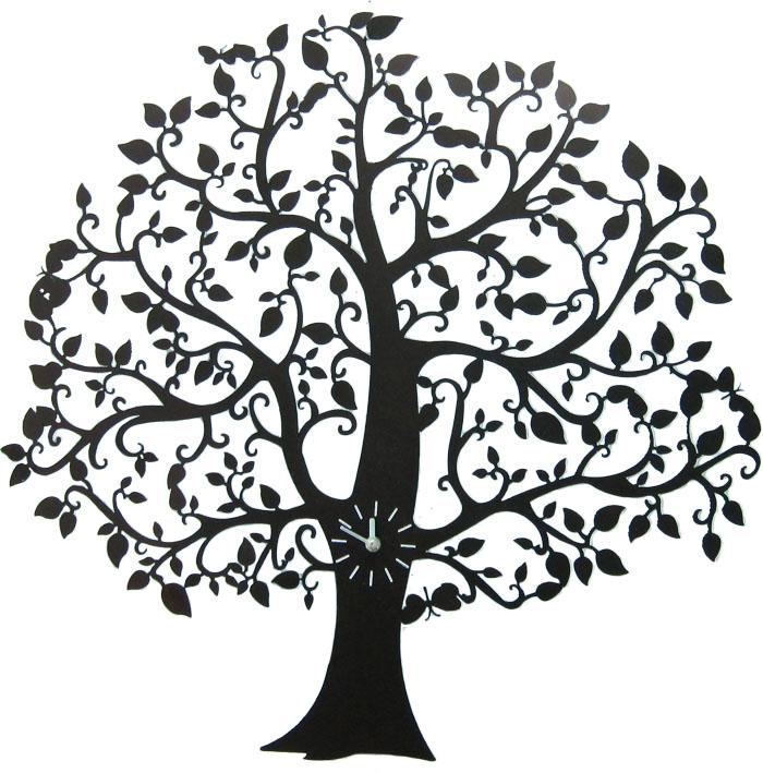 Часы настенные Дерево, 68,5 см х 70 см, цвет: черный94672Настенные часы Дерево - это интересное решение для Вашего интерьера, которое подчеркнет стиль Вашего дома и украсит любую комнату. Часы имеют три стрелки - часовую, минутную и секундную.Для кухни, гостиной, прихожей или дачи - Вы обязательно найдете ту модель, которая вам понравится. Характеристики: Материал: металл, пластик. Размер часов: 68,5 см х 70 см. Диаметр циферблата: 8 см. Размер упаковки: 74 см х 5 см х 74 см.