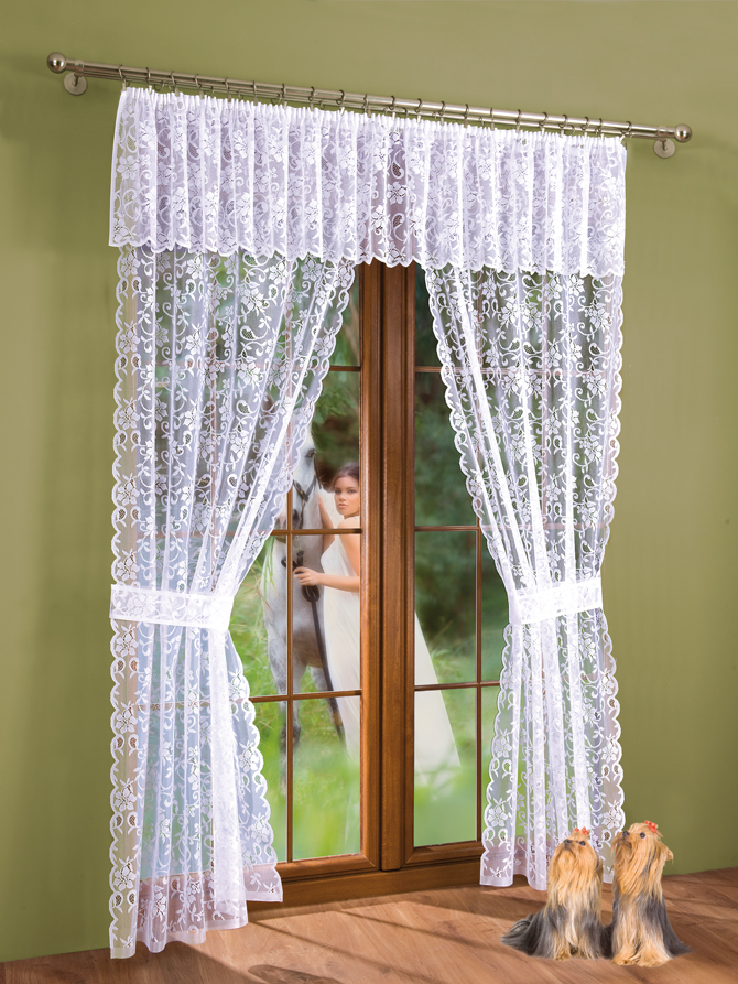 Комплект штор Aliena, на ленте, цвет: белый, высота 220 см9392Комплект штор Aliena, изготовленные из полиэстера белого цвета, станут великолепным украшением любого окна или дверного проема. Тонкое плетение, оригинальный дизайн привлекут к себе внимание и органично впишутся в интерьер. В набор входят две шторы и ламбрекен. Также для более изящного расположения штор на окне прилагаются подхваты. Все элементы комплекта на шторной ленте для собирания в сборки. Характеристики:Материал: 100% полиэстер. Цвет: белый. Размер упаковки:26 см х 2 см х 36 см. Артикул: 721672.В комплект входит: Штора - 2 шт. Размер (ШхВ): 100 см х 220 см. Ламбрекен - 1 шт. Размер (ШхВ): 300 см х 40 см. Подхват - 2 шт. Фирма Wisan на польском рынке существует уже более пятидесяти лет и является одной из лучших польских фабрик по производству штор и тканей. Ассортимент фирмы представлен готовыми комплектами штор для гостиной, детской, кухни, а также текстилем для кухни (скатерти, салфетки, дорожки, кухонные занавески). Модельный ряд отличает оригинальный дизайн, высокое качество. Ассортимент продукции постоянно пополняется.