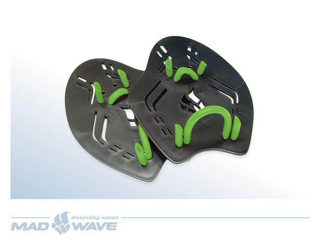 Лопатки для плавания MadWave Extreme, цвет: черный, размер S сланцы madwave madwave ma991akffh77