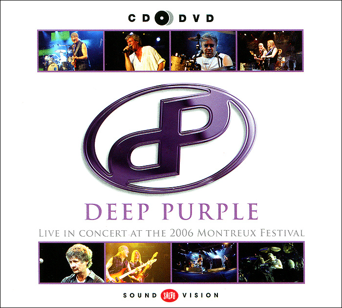 Deep Purple Deep Purple. Live At Montreux 2006 (CD + DVD) deep purple german explosion cd в интернет магазине