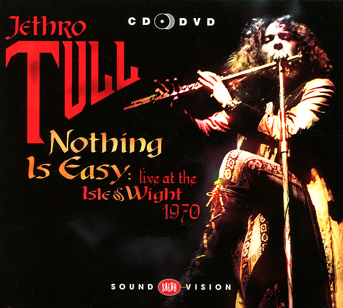 Jethro Tull Jethro Tull. Nothing Is Easy. Live At The Isle Of Wight 1970 (CD + DVD) jethro tull jethro tull thick as a brick