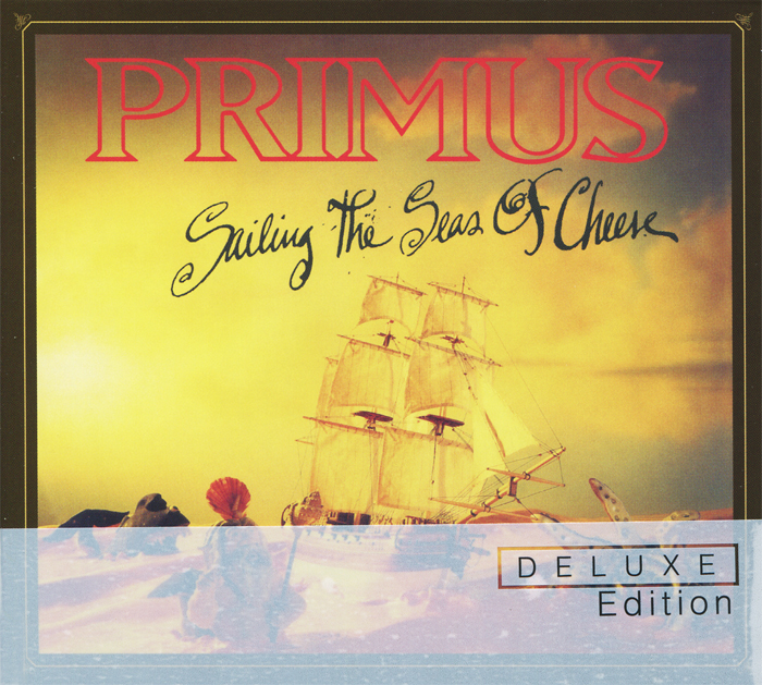 Primus Primus. Sailing The Seas Of Cheese. Deluxe Edition (CD + DVD) джеймс блант james blunt all the lost souls deluxe edition cd dvd
