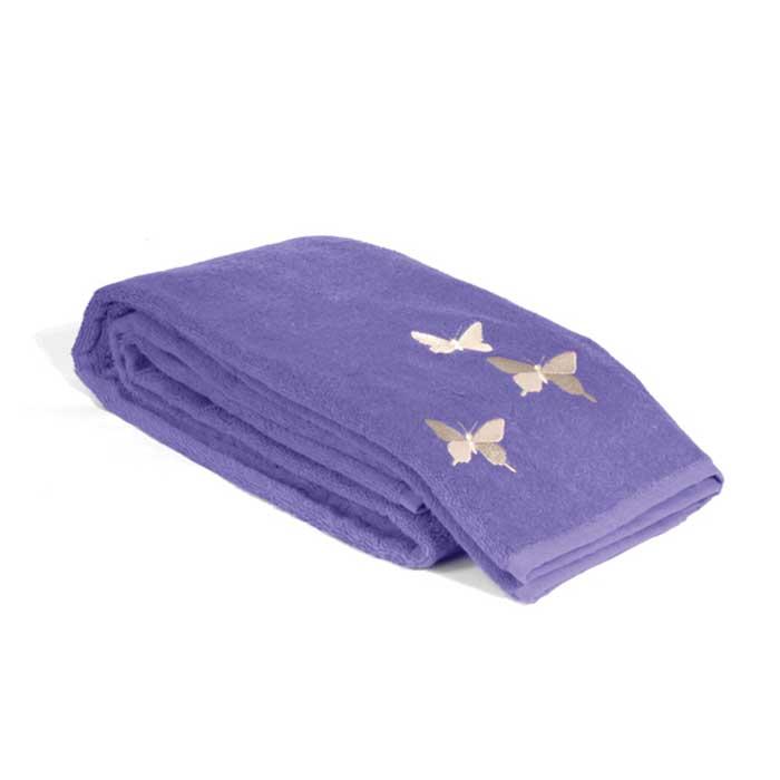 Полотенце махровое Tete-a-Tete, цвет: фиолетовый, 50 см х 90 см. Т-МП-6200-01-11PR-2WМягкое бамбуковое полотенце Tete-a-tete удивит вас шелковым блеском и отличной впитывающей способностью. Полотенце обладает антибактериальным свойством, что препятствует размножению бактерий и появлению неприятного запаха. Полотенце быстро сохнет и не теряет своих свойств после многократных стирок. Украшено очаровательной вышивкой в форме бабочек.Махровое полотенце Tete-a-Tete станет достойным выбором для вас и приятным подарком для ваших близких.Полотенце упаковано в стильную и компактную подарочную коробку с прозрачной стенкой. Характеристики: Материал: 40% хлопок, 60% бамбук. Размер полотенца:50 см х 90 см. Размер упаковки: 9,5 см х 9 см х 25,5 см. Плотность:500 г/м2. Цвет:фиолетовый. Артикул:Т-МП-6200-01-11.