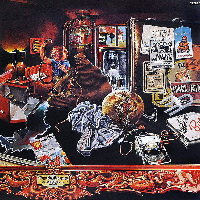 Frank Zappa. Over-Nite Sensation (LP)