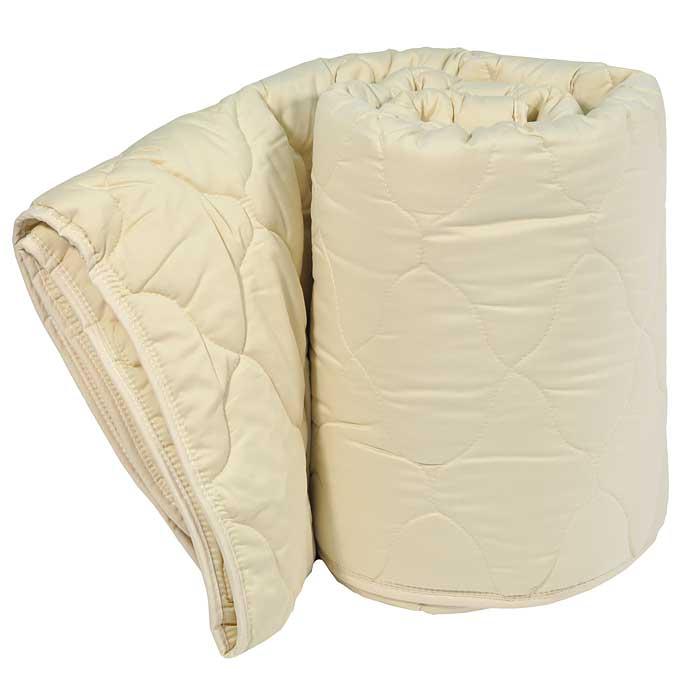 Одеяло Dargez Арно легкое, наполнитель: овечья шерсть, 140 см х 205 смS03301004Легкое одеяло Dargez Арно в гладкокрашеном сатиновом чехле карамельного цвета с наполнителем из шерсти овец мериносовой породы обладает уникальной гигроскопичностью, создавая оптимальный микроклимат для организма и поддерживая комфортные условия во время сна и отдыха.Одеяло вложено в текстильную сумку-чехол зеленого цвета на застежке-молнии, а специальная ручка делает чехол удобным для переноски. Характеристики:Материал чехла: сатин (100% хлопок). Наполнитель: овечья шерсть (меринос). Размер одеяла: 140 см х 205 см. Масса наполнителя: 300 г/м2. Размер упаковки: 60 см х 42 см х 15 см. Артикул: 22430Е. Торговый Дом Даргез был образован в 1991 году на базе нескольких компаний, занимавшихся производством и продажей постельных принадлежностей и поставками за рубеж пухоперового сырья. Благодаря опыту, накопленным знаниям, стремлению к инновациям и развитию за 19 лет компания смогла стать крупнейшим производителем домашнего текстиля на территории Российской Федерации. В основу деятельности Торгового Дома Даргез положено стремление предоставить покупателю широкий выбор высококачественных постельных принадлежностей и текстиля для дома, которые способны создавать наилучшие условия для комфортного и, что немаловажно, здорового сна и отдыха.