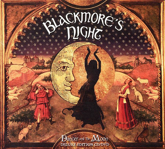 Blackmore's Night Blackmore's Night. Dancer And The Moon. Deluxe Edition (CD + DVD) рик уэйкман rick wakeman journey to the centre of the eart deluxe edition cd dvd