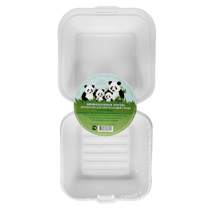БИО-Бургер-бокс, цвет: белый, 450 мл, 10 штперфорационные unisexБиоразлагаемая посуда, полученная из сахарного тростника, является экологически чистой и абсолютно безопасной для окружающей среды. Разлагается под воздействием окружающей среды от 40 дней. Используется для холодных и для горячих блюд. Можно использовать в микроволновой печи. Без канцерогенов и токсинов. Характеристики:Состав: сахарный тростник 100%. Цвет: белый. Размер бургер-бокса: 32 см х 15,4 см х 4 см. Размер в упаковке: 32 см х 15,4 см х 4 см. Комплектация: 10 штук. Изготовитель: Китай.