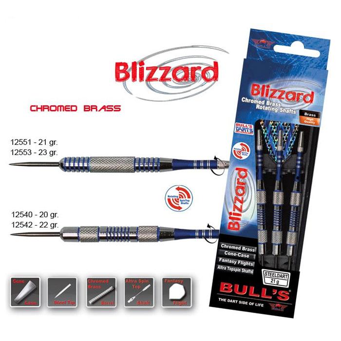 Дротик Bulls Blizzard, 22 г5017626001064_черныйКомплект дротиков для опытных игроков. Хвостовик вращается. Каждый дротик изготовлен из латуни и имеет хромированное покрытие.Возвраттоваравозможен только при наличии заключения сервисного центра.Время работы сервисного центра: Пн-чт: 10.00-18.00 Пт: 10.00- 17.00Сб, Вс: выходные дниАдрес: ООО ГАТО, 121471, г.Москва,ул.ПетраАлексеева,д12., тел. (495)232-4670, gato@gato.ruХарактеристики: Материал: латунь. Количество в упаковке: 3 шт. Размер дротика: 12 см х 1 см х 1 см. Размер хвостовика: 4,5 см х 3 см х 0,1 см. Размер упаковки: 21 см х 6,5 см х 2 см.