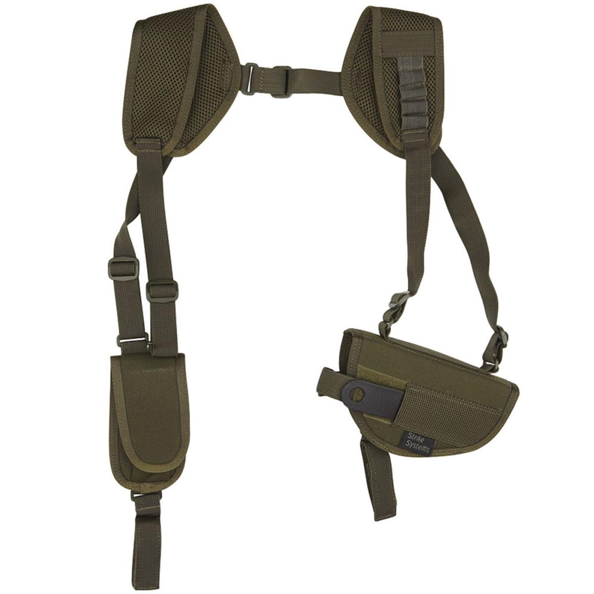 Кобура ASG оперативная для M92, G17/18, STI, CZ, Steyr, Bersa, цвет: Olive Drab (17022)RE-0094Кобура оперативная (для ношения под мышкой) для пневматических и страйкбольных пистолетов серий M92, G17/18, STI, CZ, Steyr, Bersa (полноразмерные и среднеразмерные - Full Frame и Mid Frame) с подсумком для запасного магазина.Предназначена для ношения в тире и на полигоне. Не рассчитана на скрытое ношение. Показанные на фото оружие и аксессуары в комплект не входят. Не рассчитана на использование с боевым оружием. Подходит для правшей.Регулируется по размерам.Комфортные мягкие лямки.Двойные швы.Из износостойкого и влагостойкого нейлона.Возвраттоваравозможен только при наличии заключения сервисного центра.Время работы сервисного центра: Пн-чт: 10.00-18.00 Пт: 10.00- 17.00Сб, Вс: выходные дниАдрес: ООО ГАТО, 121471, г.Москва,ул.ПетраАлексеева,д12., тел. (495)232-4670, gato@gato.ruХарактеристики: Материал: нейлон. Размер кобуры (без креплений): 18 см х 11 см х 4 см. Размер упаковки: 33 см х 22 см х 7 см. Артикул: 17022.Уважаемые покупатели, обращаем Ваше внимание что авиадоставка в нижеперечисленные города этого товара временно недоступна! 1. Ангарск 2. Благовещенск 3. Бодайбо 4. Братск 5. Владивосток 6. Воркута 7. Иркутск 8. Калининград 9. Надым 10. Нарьян-Мар 11. Находка 12. Норильск 13. Петропавловск-Камчатский 14. Салехард 15. Улан-Удэ 16. Уссурийск 17. Ухта 18. Хабаровск 19. Чита 20. Энергетик 21. Южно-Сахалинск 22. Якутск