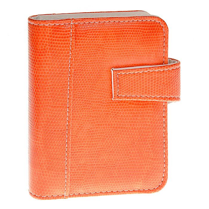 """Компактный бизнес-организатор """"Index"""" в обложке, выполненной из искусственной кожи с рисунком, имитирующим кожу змеи, снабжен кольцевым механизмом для удобной замены или добавления страниц в блок. Имеет петлю-держатель для ручки, три прорезных кармана для кредитных карт и визиток и отделение для мелких бумаг, страницы линованные. Закрывается на магнитную застежку. Рубрикаторы блока имеют ламинированное покрытие для придания им дополнительной жесткости. Бизнес-организатор """"Index"""" - прекрасный подарок и незаменимый деловой инструмент в офисе, на деловых встречах и в командировках."""