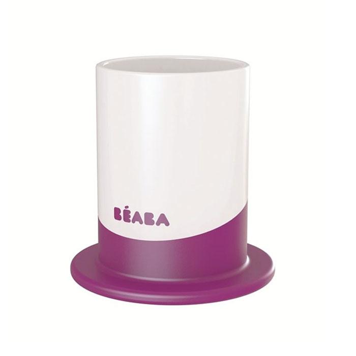 """Пластиковый стакан Beaba """"Ellipse"""" выполнен из безопасных материалов (не содержат бисфенол А). Эргономичная форма удобна для держания маленькими детскими ручками. Дно снабжено прорезиненным кольцом, исключающим скольжение стакана по поверхности стола. Его можно мыть в посудомоечной машине."""