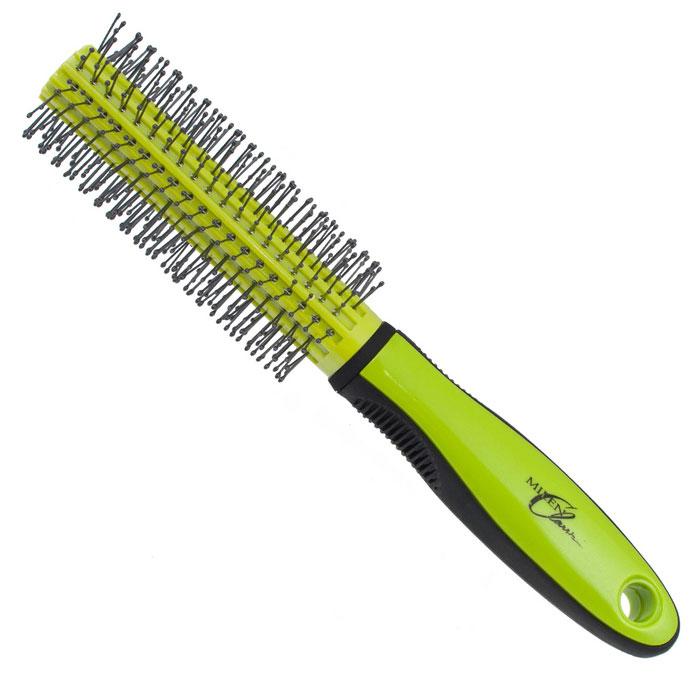 Milen Classik Брашинг. 330-Z432111Satin Hair 7 BR730MNБрашинг Milen Classik для укладки волос изготовлен из термостойкого пластика с антистатическими зубцами. Благодаря продуманному дизайну расческа очень удобна в использовании. Окончания зубцов имеют шарообразную форму, что позволяет производить легкий массаж головы, снимая напряжение и не раздражая кожу головы. Характеристики:Материал: пластмасса. Длина расчески: 22 см. Длина зубцов: 1 см. Общий диаметр расчески: 4 см. Производитель: Германия. Артикул: 330-Z432111. Товар сертифицирован.