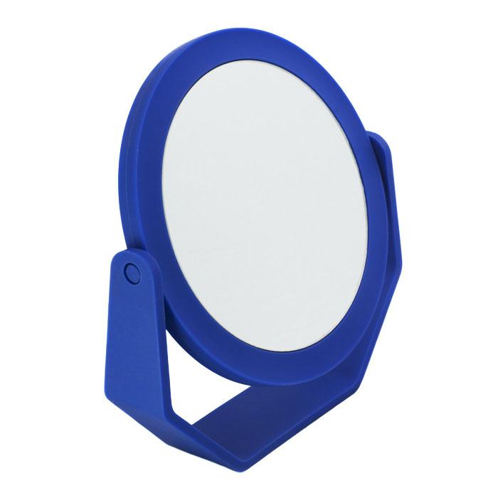 Beiron Зеркало косметическое, настольное, двустороннее. 530-113178130-101Косметическое зеркало Beiron в пластиковой оправе идеально подходит для утреннего туалета и макияжа, где бы вы ни были. С одной стороны обычное зеркало, с другой - с 2-х кратным увеличением. Характеристики:Материал: пластик, стекло. Диаметр зеркала: 12,5 см. Размер корпуса: 17 см х 4 см х 18,5 см. Артикул: 530-1131. Производитель: КНР. Товар сертифицирован.
