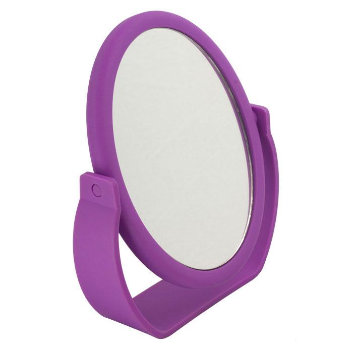 Beiron Зеркало косметическое, настольное, двустороннее. 530-293919-5009_фуксияКосметическое зеркало Beiron в пластиковой оправе идеально подходит для утреннего туалета и макияжа, где бы вы ни были. С одной стороны обычное зеркало, с другой - с 5-ти кратным увеличением. Характеристики:Материал: пластик, стекло. Размер зеркала: 13 см х 16,5 см. Размер корпуса: 18 см х 5 см х 21 см. Артикул: 530-2939. Производитель: КНР. Товар сертифицирован.