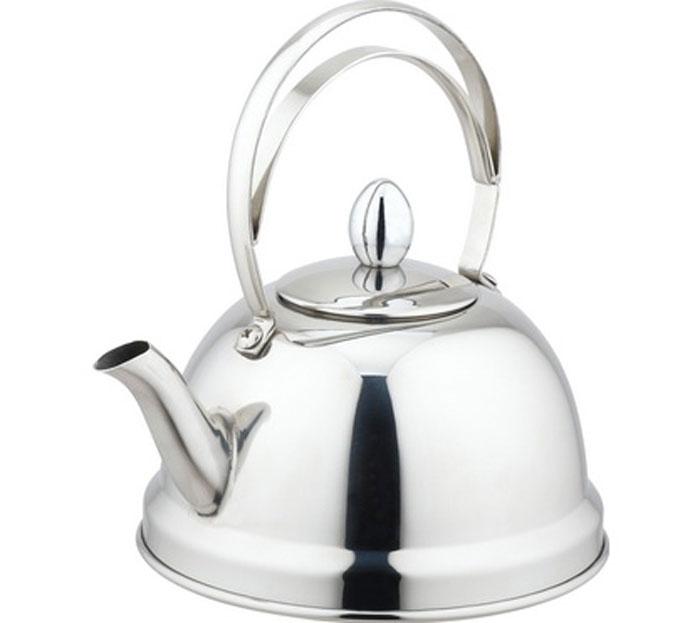 Чайник заварочный Appetite, цвет: стальной, 0,7 л54 009305Заварочный чайник Appetite изготовлен из высококачественной нержавеющей стали. Внутри чайника установлен съемный сетчатый фильтр, который задерживает чаинки и предотвращает их попадание в чашку. Чайник снабжен удобной ручкой.Чай в таком чайнике дольше остается горячим, а полезные и ароматические вещества полностью сохраняются в напитке. Чайник Appetite пригоден для использования на всех видах плит, кроме индукционных. Можно мыть в посудомоечной машине. Диаметр основания чайника: 14 см.Высота чайника (с учетом ручки): 18 см.