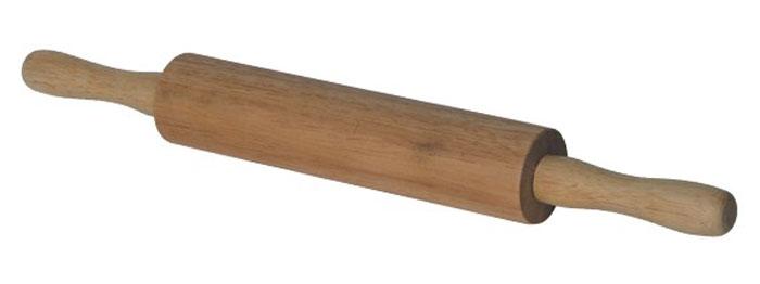 Скалка двуручная Bosco, 42 см420520Двуручная скалка Bosco, выполненная из натурального дерева гевея, предназначена для раскатывания теста. Древесина гевеи обладает повышенной прочностью, влагонепроницаемостью, а также легкостью. Эргономичные ручки и идеально ровная поверхность валика делают работу быстрой и приятной. Теперь вам не потребуется много усилий, чтобы раскатать тесто. Характеристики: Материал: дерево (гевея). Длина скалки: 42 см. Диаметр валика скалки: 5 см. Размер упаковки: 42 см х 5 см х 5 см. Производитель:Италия. Артикул: 93-BO-5-05.