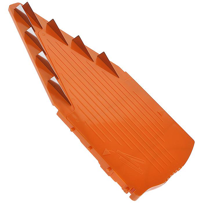 """Вставка к овощерезке Borner """"V-Прима"""", цвет: оранжевый, 10 мм"""