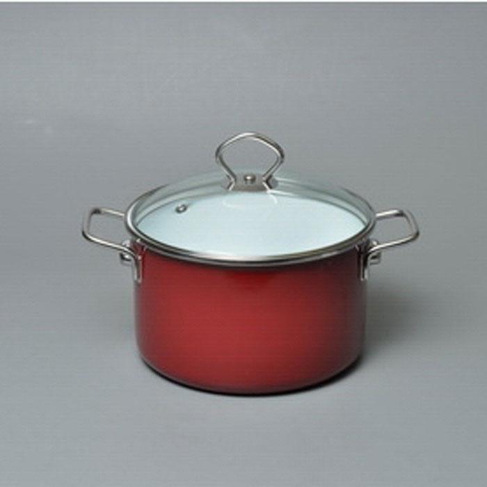 Кастрюля эмалированная Vitross Bon Appetit с крышкой, цвет: белый, вишневый, 1,5 л8SB165S, вишневыйКастрюля Vitross Bon Appetit изготовлена на стальной основе со стеклокерамическим покрытием - наиболее безопасный вид посуды. Стеклокерамика инертна и устойчива к пищевым кислотам, не вступает во взаимодействие с продуктами и не искажает их вкусовые качества. Прочный стальной корпус обеспечивает эффективную тепловую обработку пищевых продуктов, не деформируется с процессе эксплуатации. Посуда Vitross идеально подходит для тепловой обработки и хранения пищевых продуктов, приготовления холодных блюд и сервировки стола. Кастрюля оснащена двумя удобными ручками из нержавеющей стали. Крышка, выполненная из термостойкого стекла, позволит вам следить за процессом приготовления пищи. Крышка плотно прилегает к краю кастрюли, предотвращая проливание жидкости и сохраняя аромат блюд.Изделие подходит для всех типов плит, включая индукционные. Можно мыть в посудомоечной машине.Это идеальный подарок для современных хозяек, которые следят за своим здоровьем и здоровьем своей семьи. Эргономичный дизайн и функциональность позволят вам наслаждаться процессом приготовления любимых, полезных для здоровья блюд. Характеристики:Материал: сталь, стекло, эмаль. Объем: 1,5 л. Внутренний диаметр: 17,5 см. Ширина с учетом ручек: 24,5 см. Высота с учетом крышки: 13,5 см. Высота стенки: 7 см. Толщина дна: 0,5 см. Производитель: Россия. Артикул: 8SB165S.