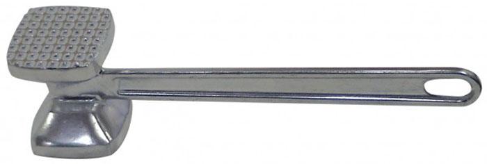 Молоток для мяса Regent Inox Presto, алюминиевый. 93-AC-PR-0623.32.14Молоток для мяса Regent Inox Presto поможет вам без труда отбить мясо и приготовить его мягким, сочным и вкусным. Рабочая поверхность, выполненная из аллюминия, имеет две стороны: с гладкой поверхностью и с мелкими зубцами. На ручке молотка имеется специальное отверстие, за которое Вы можете подвесить его в удобное для вас место. Характеристики:Материал: аллюминий. Цвет: серебристый. Длина молотка: 23 см. Размер рабочих поверхностей: 4,5 см х 5 см. Размер упаковки: 24 см х 10 см х 4,5 см. Артикул: 93-AC-PR-06.