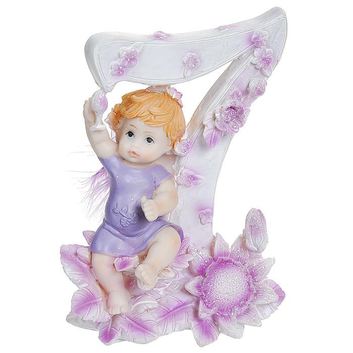 Статуэтка Именинный ангелочек. 7 лет статуэтки parastone статуэтка собака get lost rufus parastone