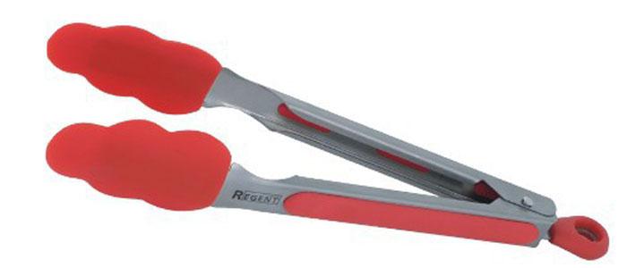 Щипцы универсальные Regent Inox Presto, силиконовые, 23 см93-AC-TN-09Щипцы Presto идеально подойдут для того, чтобы аккуратно разложить порции приготовленной пищи по тарелкам. Щипцы изготовлены из силикона и высококачественной нержавеющей стали. Такие щипцы станут незаменимым аксессуаром на вашей кухне. Характеристики:Материал: нержавеющая сталь, силикон. Цвет: красный. Длина: 23 см. Размер упаковки: 29 см х 7 см х 3,5 см. Артикул: 93-AC-TN-09.