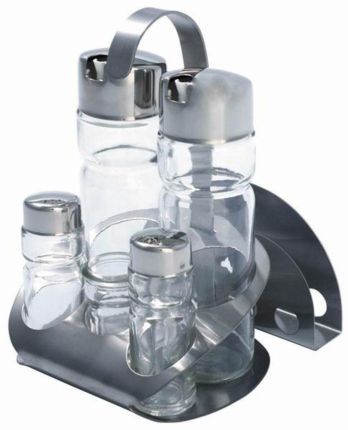 Набор для специй Aroma, 7 предметов21395599Набор для специй Aroma состоит из солонки, перечницы, емкости для масла, емкости для уксуса, подставки для зубочисток, подставки для салфеток и металлической подставки.Предметы набора выполнены из стекла, нержавеющей стали и пластика.Преимущества набора для специй Aroma:экологически чистые высококачественные материалы изготовления,оригинальный дизайн,простота в использовании, легкость в уходе.Можно мыть в посудомоечной машине. Характеристики:Материал: стекло, нержавеющая сталь, пластик. Размер емкостей для масла и для уксуса (В х Ш х Г): 15,5 см х 4,5 см х 4,5 см. Размер солонки и перечницы (В х Ш х Г): 9 см х 3 см. Размер подставки для зубочисток (В х Ш х Г): 6 см х 3 см. Размер подставки для салфеток (Д х В х Г): 12 см х 7 см х 2,5 см. Размер металлической подставки (Ш х В х Г): 13 см х 20 см х 14 см. Размер упаковки: 20 см х 13,5 см х 15 см. Артикул: 93-DE-AR-07.