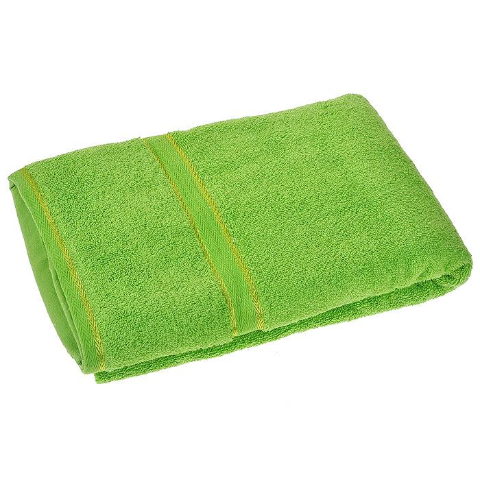 Полотенце махровое Орион, цвет: салатовый, 50 см х 90 см391602Махровое полотенце Орион, изготовленное из натурального хлопка, подарит массу положительных эмоций и приятных ощущений. Полотенце зеленого цвета декорировано орнаментом. Полотенце отличается нежностью и мягкостью материала, утонченным дизайном и превосходным качеством. Оно прекрасно впитывает влагу, быстро сохнет и не теряет своих свойств после многократных стирок.Махровое полотенце Орион станет достойным выбором для вас и приятным подарком для ваших близких. Характеристики: Материал: 100% хлопок. Размер полотенца:50 см х 90 см. Размер упаковки: 25 см х 23 см х 3 см. Плотность:440 г/м2. Цвет:зеленый. Артикул:Ct4400509-23.