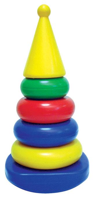 Пирамидка-качалка квадрат (конус), Строим вместе счастливое детство (СВСД), Развивающие игрушки  - купить со скидкой