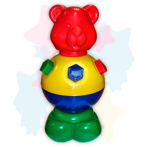 Игрушка-логика «Мишка косолапый», Строим вместе счастливое детство (СВСД), Развивающие игрушки  - купить со скидкой